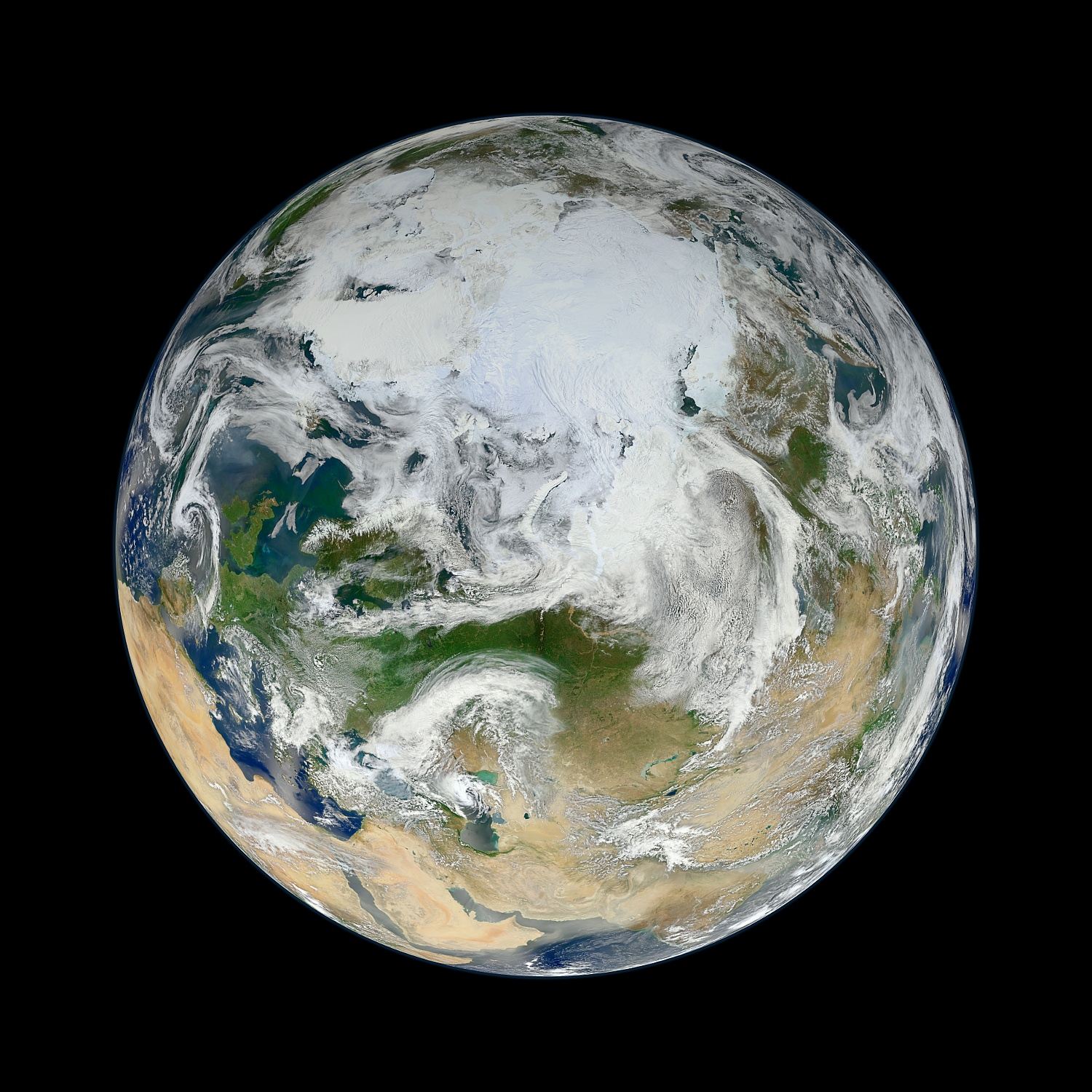EcoWest – The black and blue marble: 10 whole Earth views ...